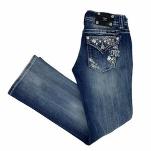 MISS ME Easy Boot Stretch Jeans Size 27